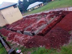 Extra Classrooms and Upstairs shall be the School Chapel