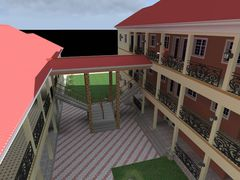 Computer Animation of the new Building when completed